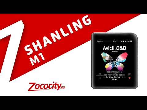 Shanling M1 - Análisis/review reproductor MP3 FLAC y Bluetooth