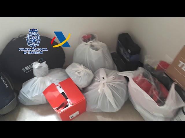 Desarticulada en Málaga una de las organizaciones de narcotráfico más activas de hachís
