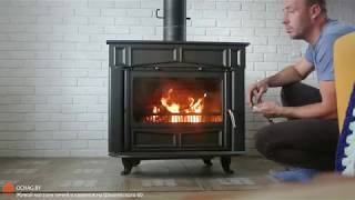 Видео Обзор Печи-Камина Plamen Glas Franklin из Хорватии