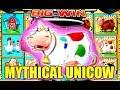 ★ MYTHICAL UNICOW FOUND ★ SUPER BIG WIN ON PLANET MOOLAH SLOT ☞ Slot Traveler