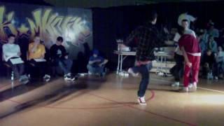 Sztewite Squad vs Alien Style Breakmania 2010
