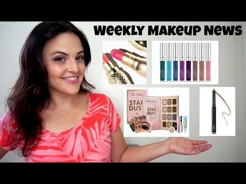What's Up In Makeup - Makeup NEWS - Week of August 9, 2015 * Jen Luv's Reviews *