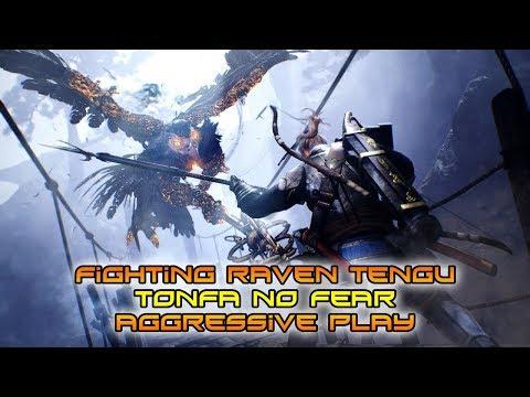 nioh-|-raven-tengu-with-tonfa-|-no-fear-|-aggressive-play