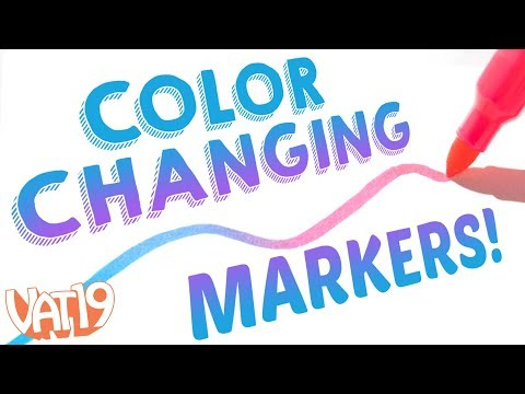 Mix Markers together with Blendy Pens!