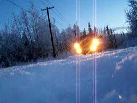 Alaska Dodge Ram Diesel POV Loudest Electronic Air Horn