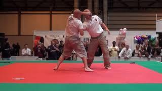 Ishin Ryu Jujitsu at the Martial Arts Show 2011 (Trevor and Dell)