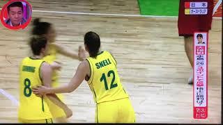 【女子バスケ】格上オーストラリア相手に接戦! QfsTLglaJLQ