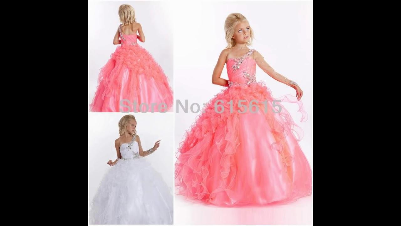 Vestidos De Fiesta Muy Bonitos Para Niña