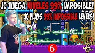 ☠️99% Imposible Niveles/Levels #6☠️ 😱 Can I SURVIVE This?😱 هل يمكن ان انجو من هذا 😱