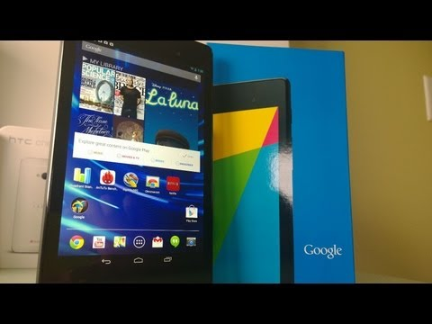 New Google Nexus 7 FHD Unboxing and Review (2013)