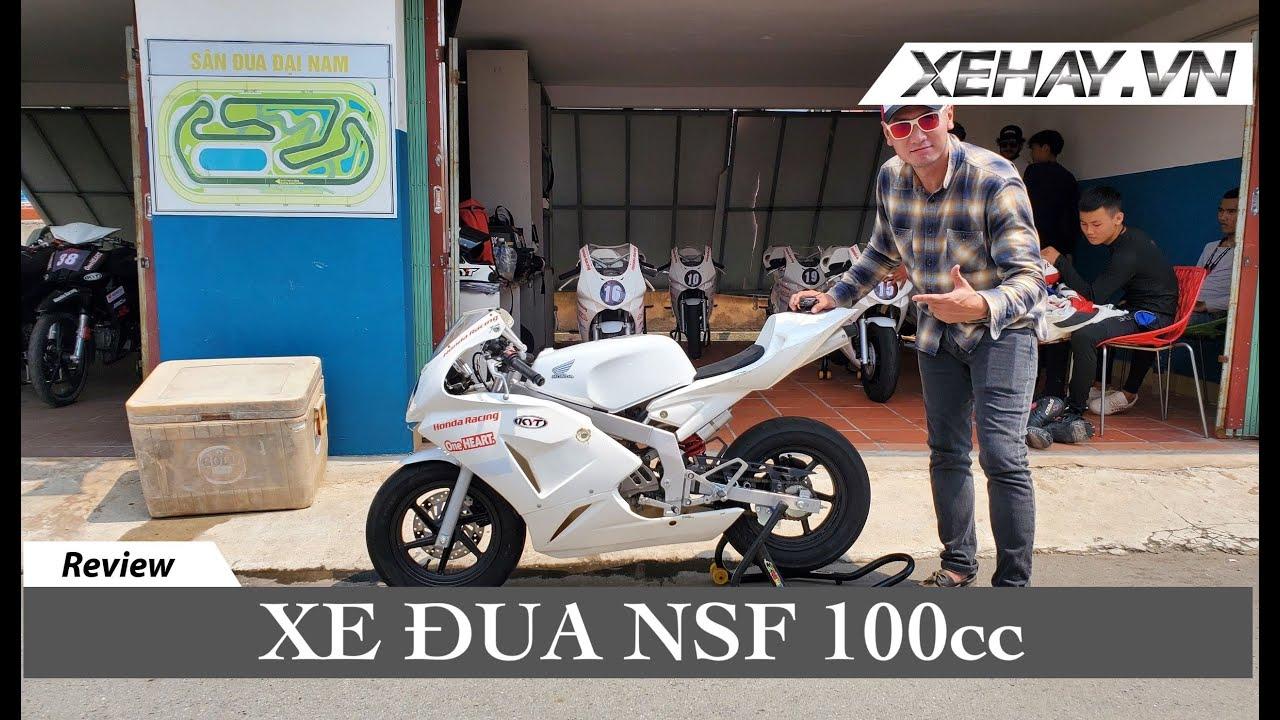 Khám phá xe đua cỡ nhỏ NSF 100cc dành cho độ tuổi từ 15 |XEHAY.VN|