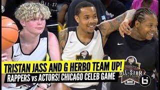 Tristan Jass, G Herbo Team Up vs Black Ink Crew, Arne Duncan! Celebrity Game Highlights!