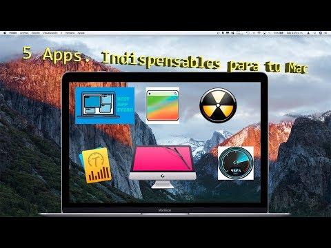 5 Apps.  indispensables para tu Mac.