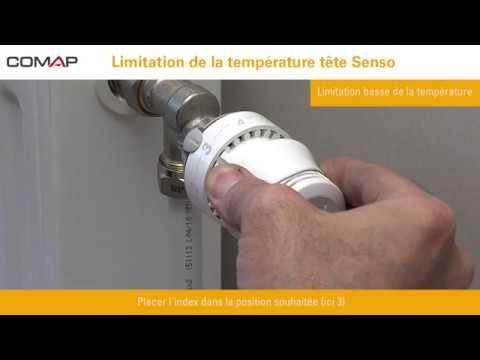 Blocage De La Temperature D Une Tete Thermostatique Senso Youtube