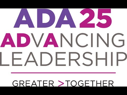 ADA 25 ADVANCING LEADERSHIP AD mixed