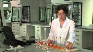 Spectrophotometric Determination of Iron