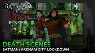 Batman: Arkham City Lockdown - Death Scenes