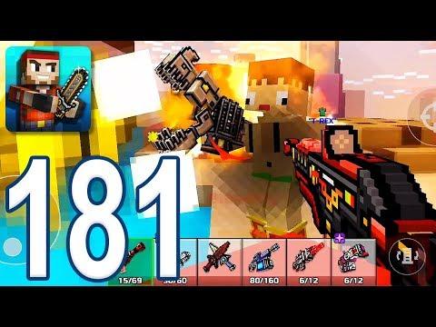 Pixel Gun 3D - Gameplay Walkthrough Part 181 - Pyro 1116 (iOS, Android)