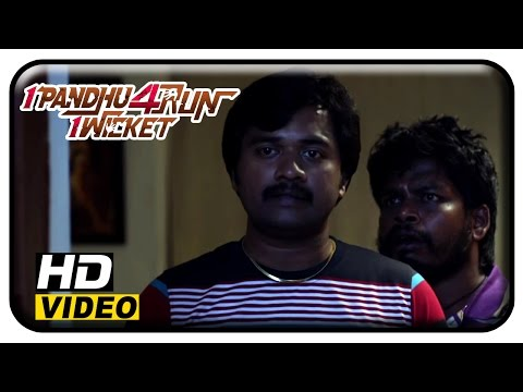 1 Pandhu 4 Run 1 Wicket Tamil Movie | Scenes | Vinai Krishna Having Drinks With Friends | Hashika