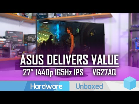 Asus VG27AQ Review, The Value 1440p 165Hz IPS Option from Asus