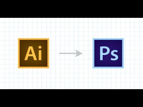 How To Convert An Illustrator File Into A Photoshop File