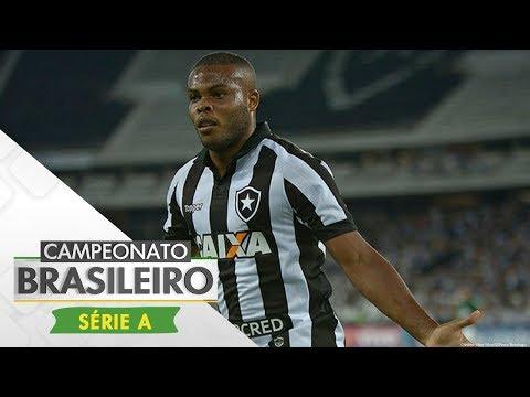 Melhores Momentos - Botafogo 2 x 1 Chapecoense - Campeonato Brasileiro (11/10/2017)