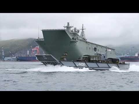 ADF and Philippine Marine Corps training exercise