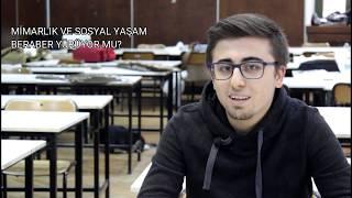 Öğrencilerinin Gözünden YTÜ Mimarlık Fakültesi ve Mimarlık Eğitimi