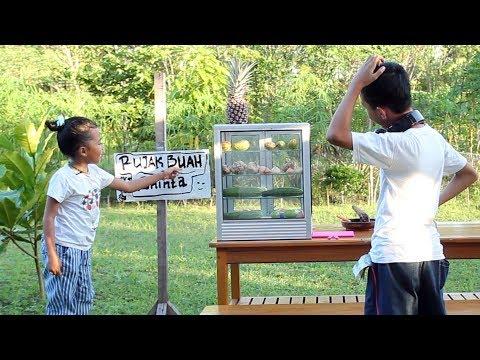 What if Shinta Jadi Penjual Rujak 2 - Parody Kids Video - Little princess shinta