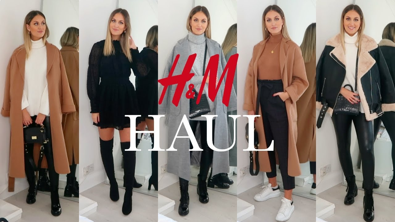 [VIDEO] - H&M WINTER HAUL & TRY ON | NEW IN DECEMBER 2019 | WINTER OUTFIT IDEAS 2
