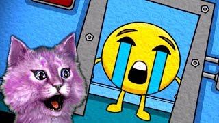 5 НОЧЕЙ С ЭМОДЖИ 2 страшилки детский летсплей emoji побеждают КОШКА ЛАНА играет