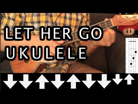 Passenger - Let Her Go UKULELE Tutorial (HD)