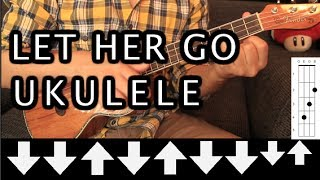 Passenger - Let Her Go UKULELE Tutorial (HD)