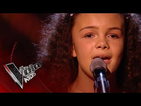 Eboni performs 'I Dreamed A Dream': Blinds 4 | The Voice Kids UK 2017