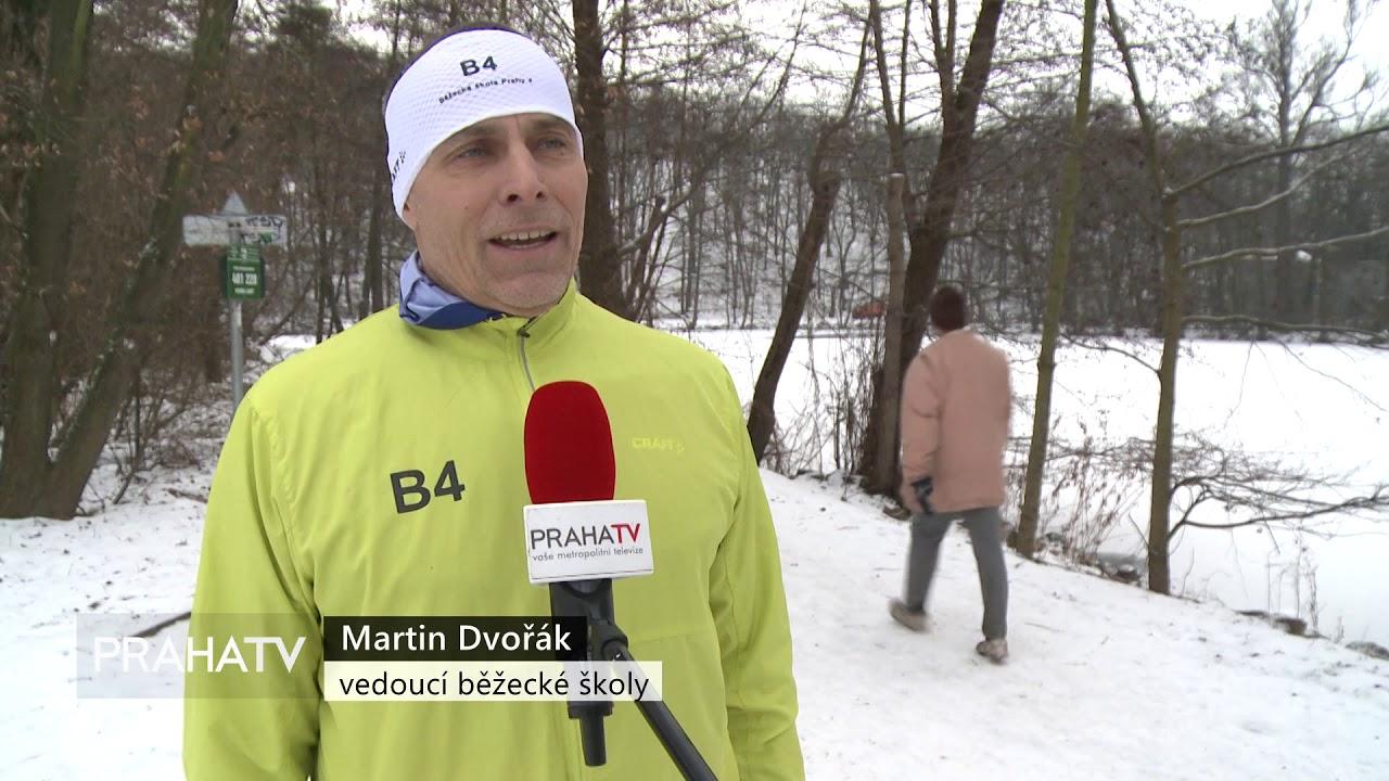 Běžecká škola P4 na PRAHA TV
