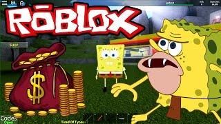 ROBLOX-La fabbrica Sponge Bob (Cartoon Tycoon 2)