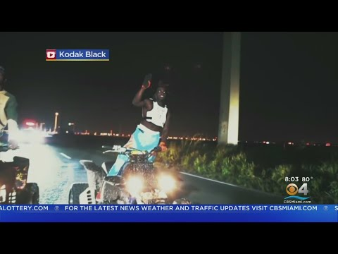 Local Rapper Kodak Black Arrested Prior To Taking Stage At Rolling Loud