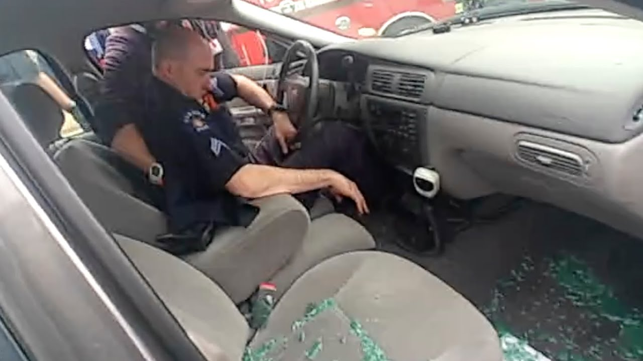 Horrifying body camera footage shows Ohio police dragging ...