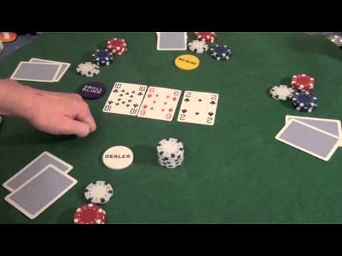 Poker Schule - Texas Holdem  Spielablauf