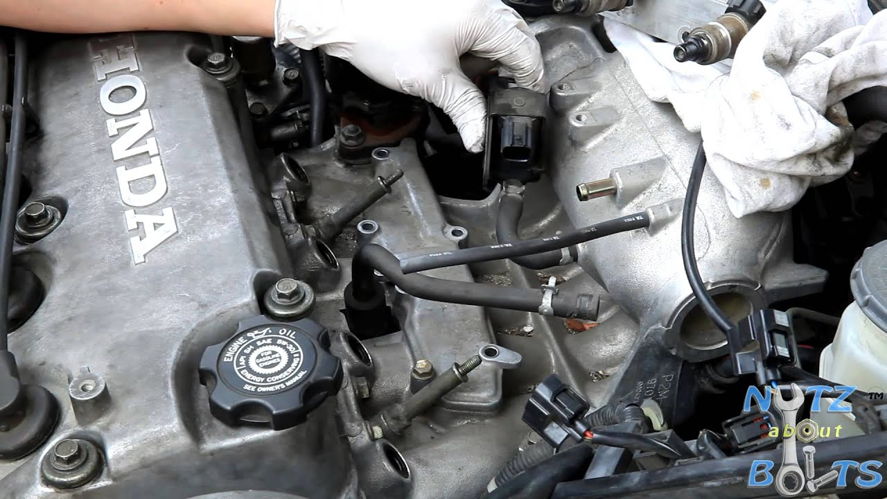 hight resolution of 1996 2000 honda civic egr passages cleaning