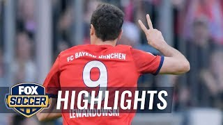 Lewandowski scores his 200 Bundesliga goal vs. Borussia Dortmund | 2019 Bundesliga Highlights