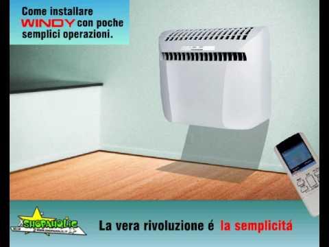 Condizionatore caldo freddo senza motore esterno tipo - Condizionatori inverter senza unita esterna ...
