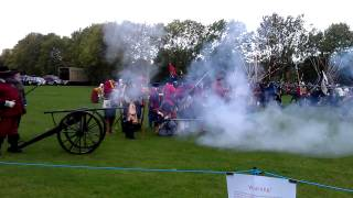 Battle of Edge Hill, Exploding Canon Performed By The Sealed Knot 19th October 2013