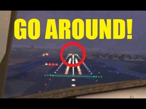 VATSIM | GO AROUND with ATC! Traffic on the Runway in San Diego (FSX)
