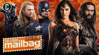 MCU vs. DC: Could a Studio Crossover Event Happen? - Mailbag