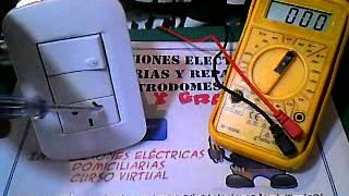 CURSO DE ELECTRICIDAD - MEDICION TENSIÓN ALTERNA - VIDEO 05