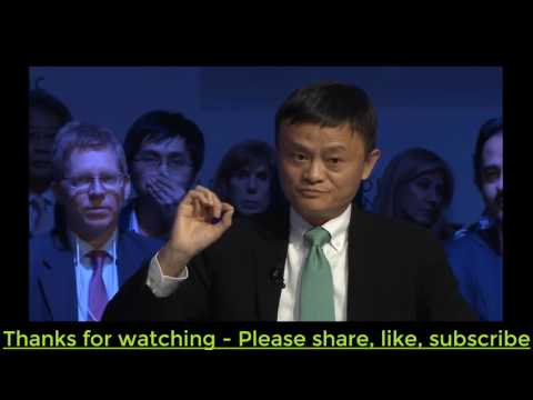 An Insight, An Idea with Jack Ma Davos 2017okok