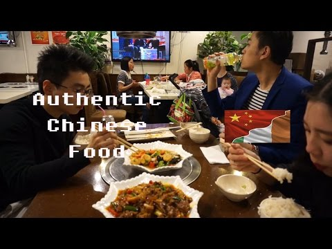 Authentic Chinese Food Restaurant  In Ireland!!