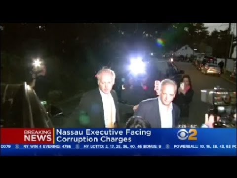 Nassau County Executive Facing Corruption Charges