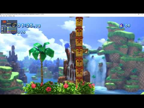 Xenia 1.0.500-canary_new | Sonic Generations [XBOX360 EMULATION]